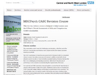 CNWL CASC Revision Course