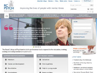 RCPsych Website